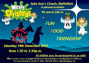 Come and join us for Messy Christmas
